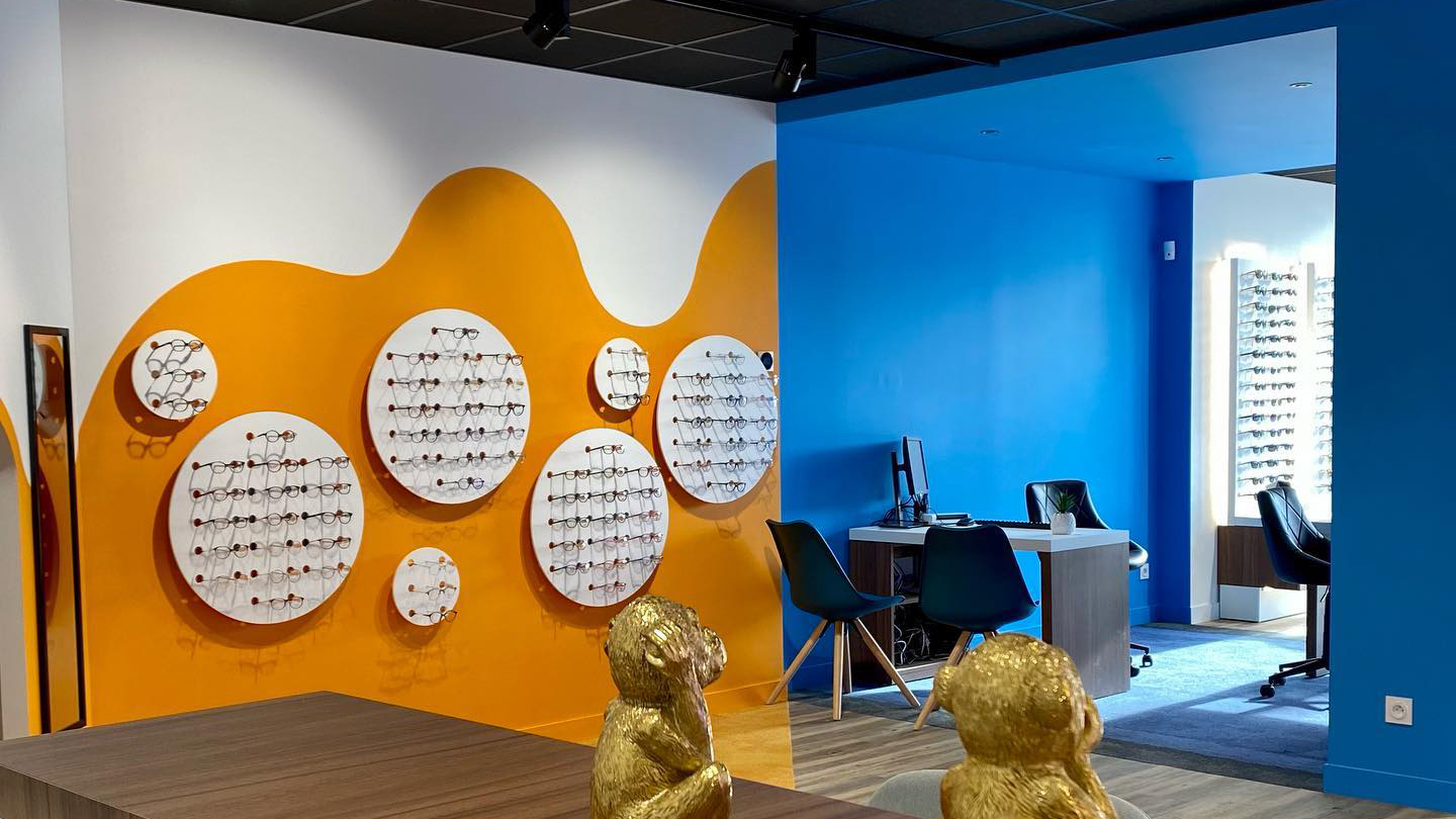 Gk Shop Amenagement De Magasins Optique Et Audition Gk Shop